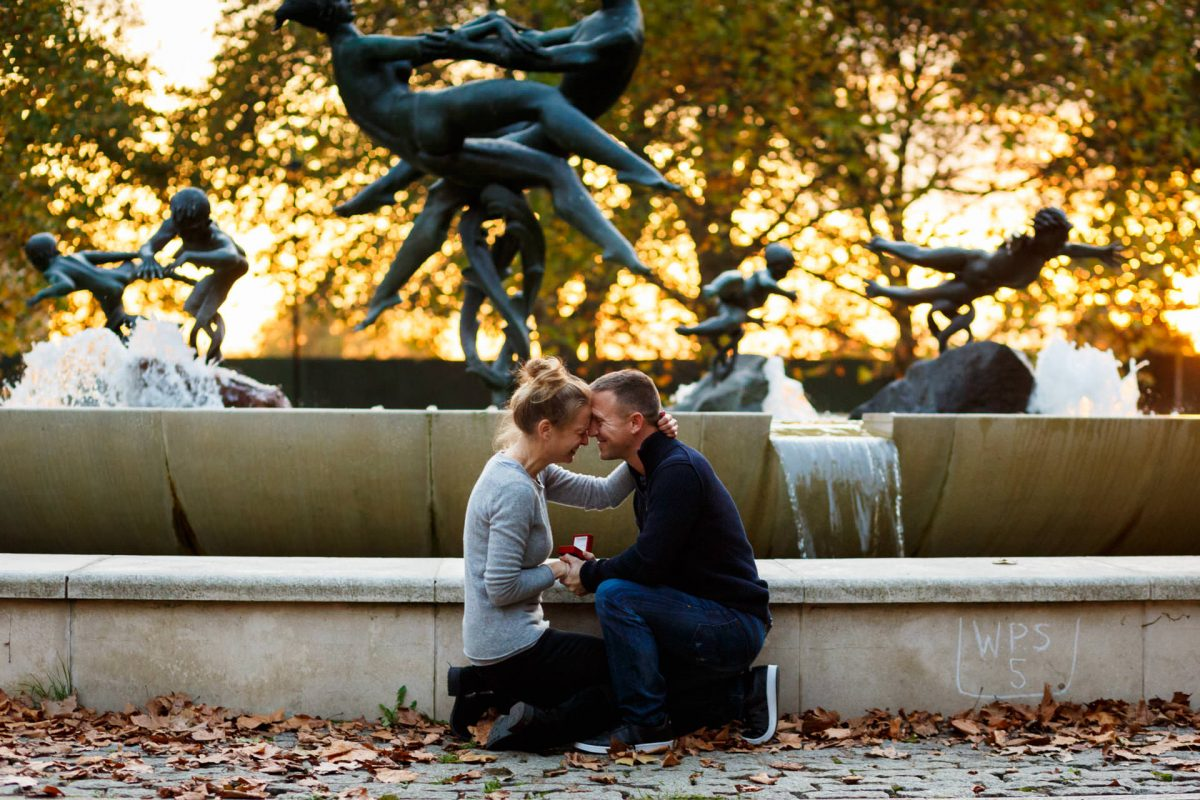 Real Engagement Photography London Hyde Park