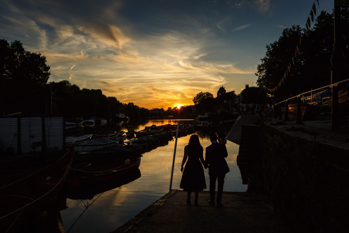 Richmond River London Engagement Photos