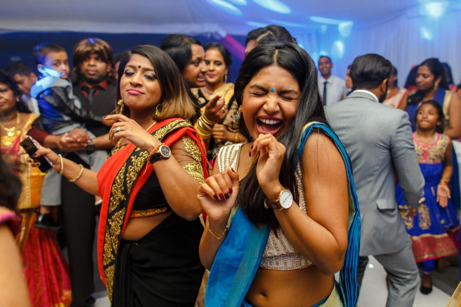 Tamil wedding photography party dance