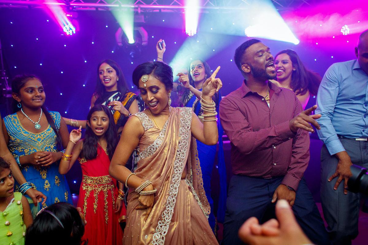 Tamil Bride Dancing Photo London