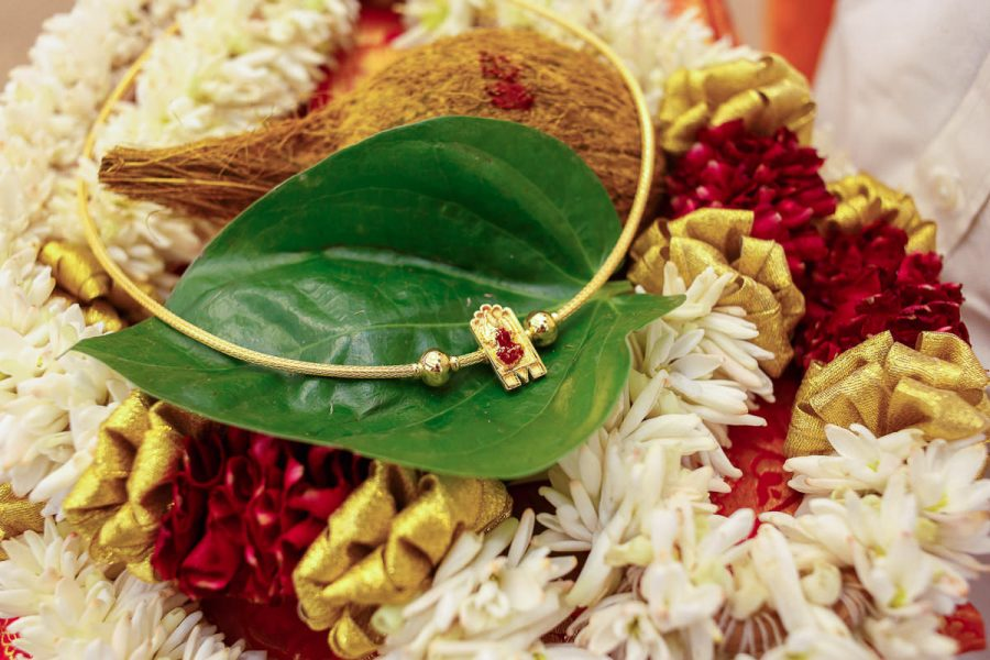 Tamil wedding photographer Gold Chain Thali