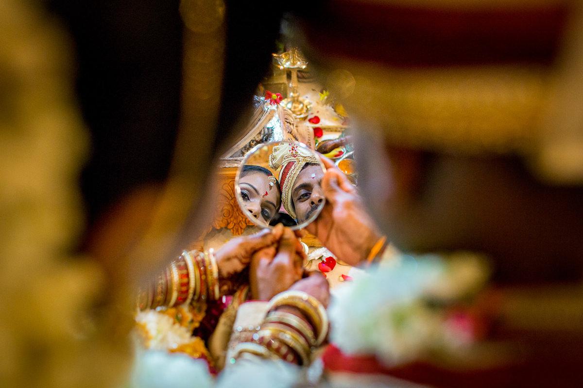 Tamil Hindu Ceremony Mirror
