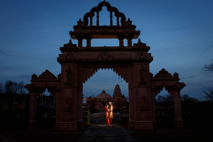 Tamil Hindu Photo Session Blue Hour