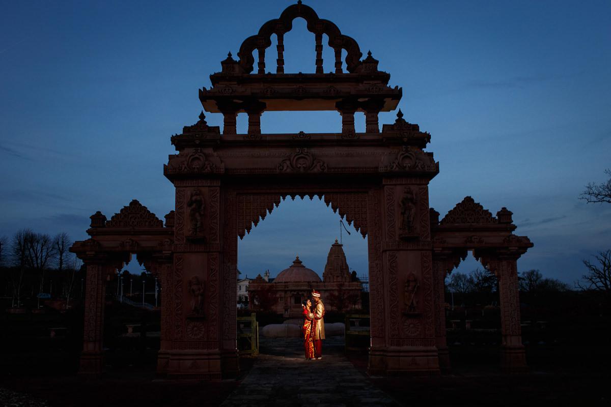 Tamil Hindu Photo Session Blue Hour