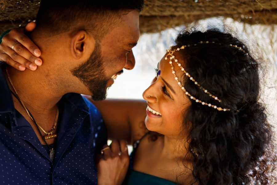 Tamil Photo Session Couple Portrait