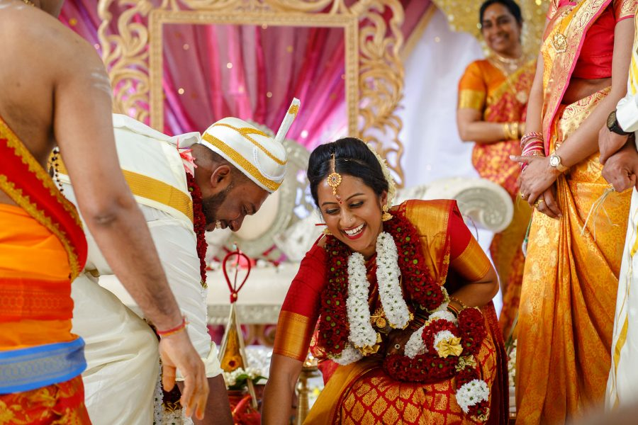 Tamil wedding photographer Hindu Ceremony Games