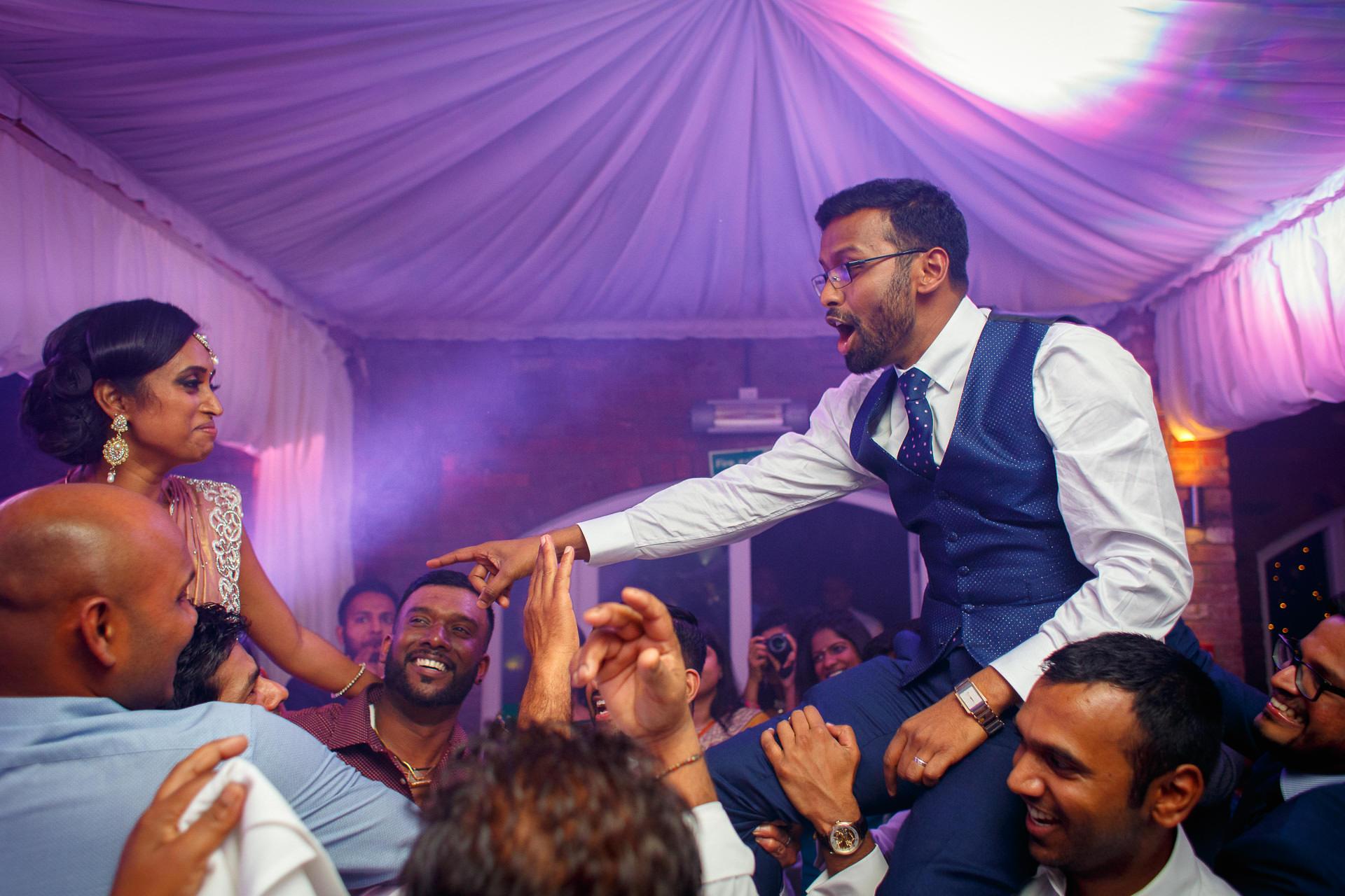 Tamil Wedding Party Photo