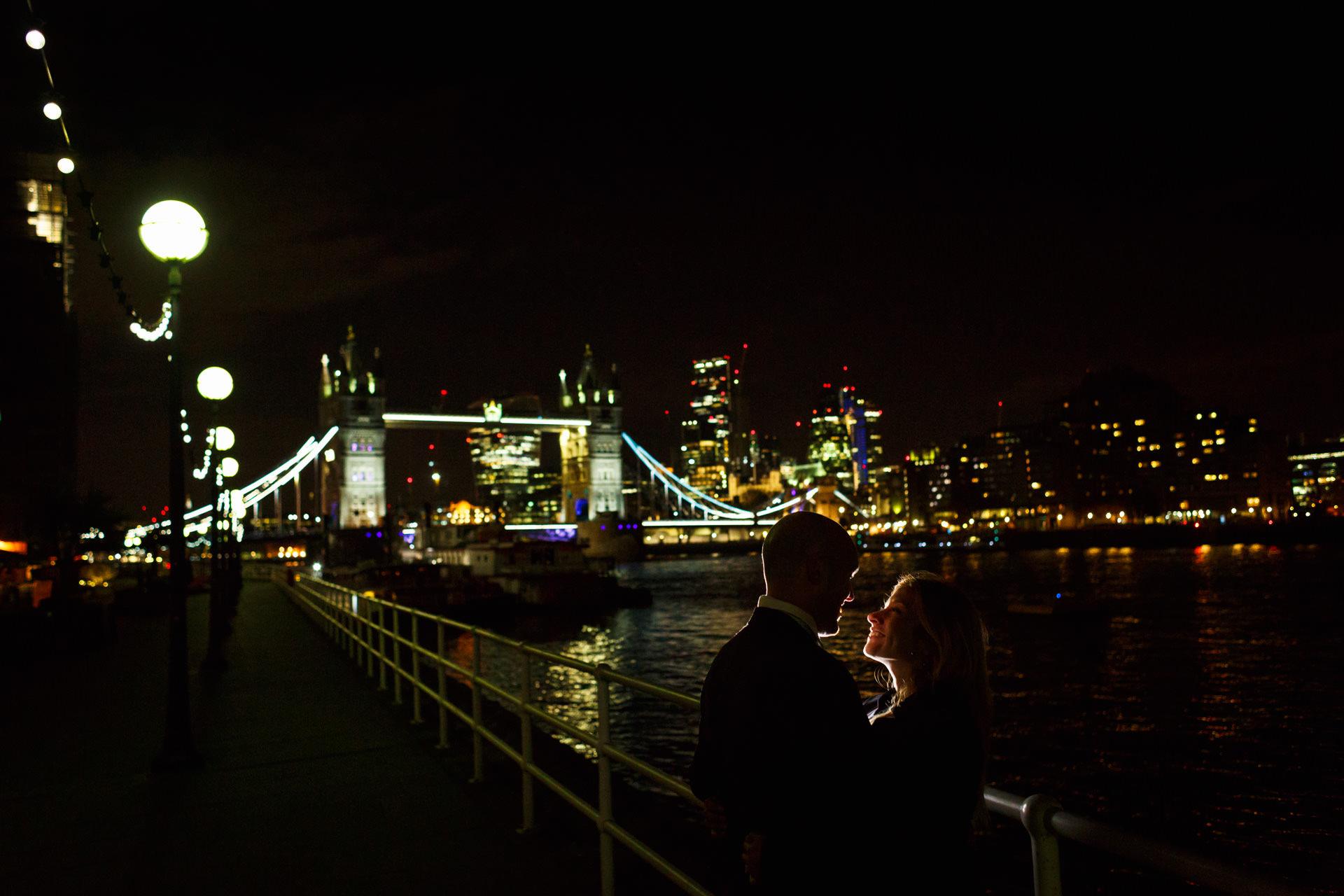 Tower Bridge London Engagement Photos