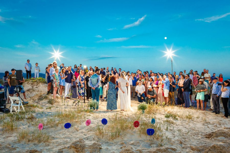 destination wedding photographer ceremony by the sea