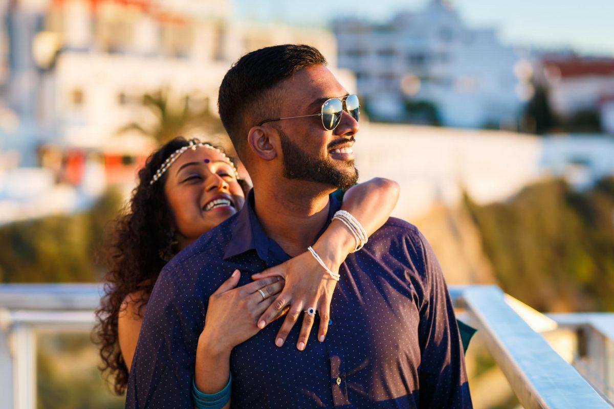 Engaged Couple Photo Shoot