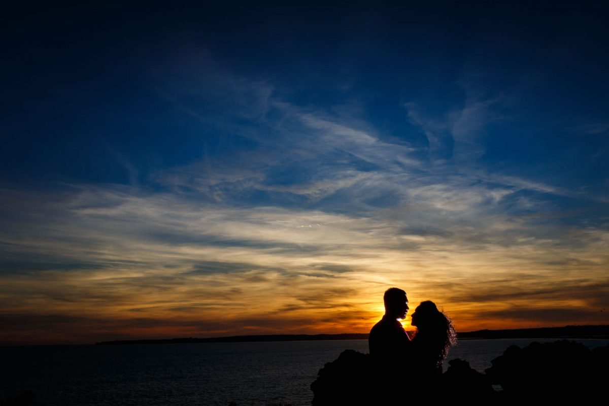 Engagement Photos By Sunset