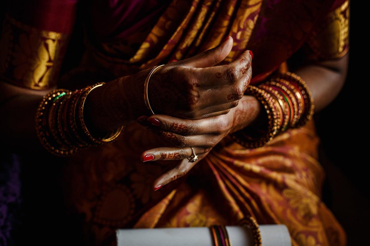 Tamil Bride Hands