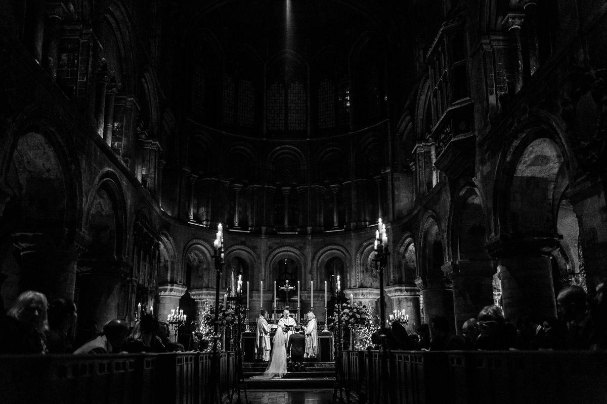 Best wedding photographer UK church view