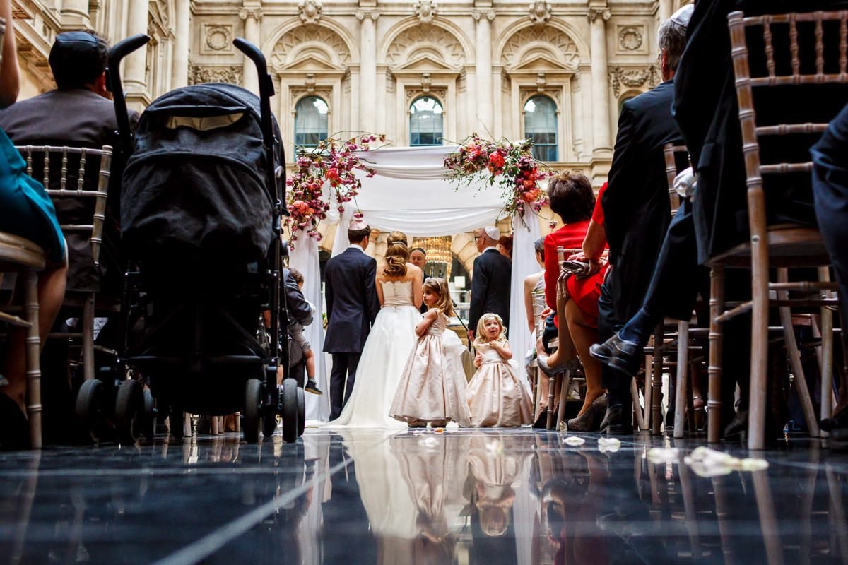 Best wedding photographer jewish wedding chuppah