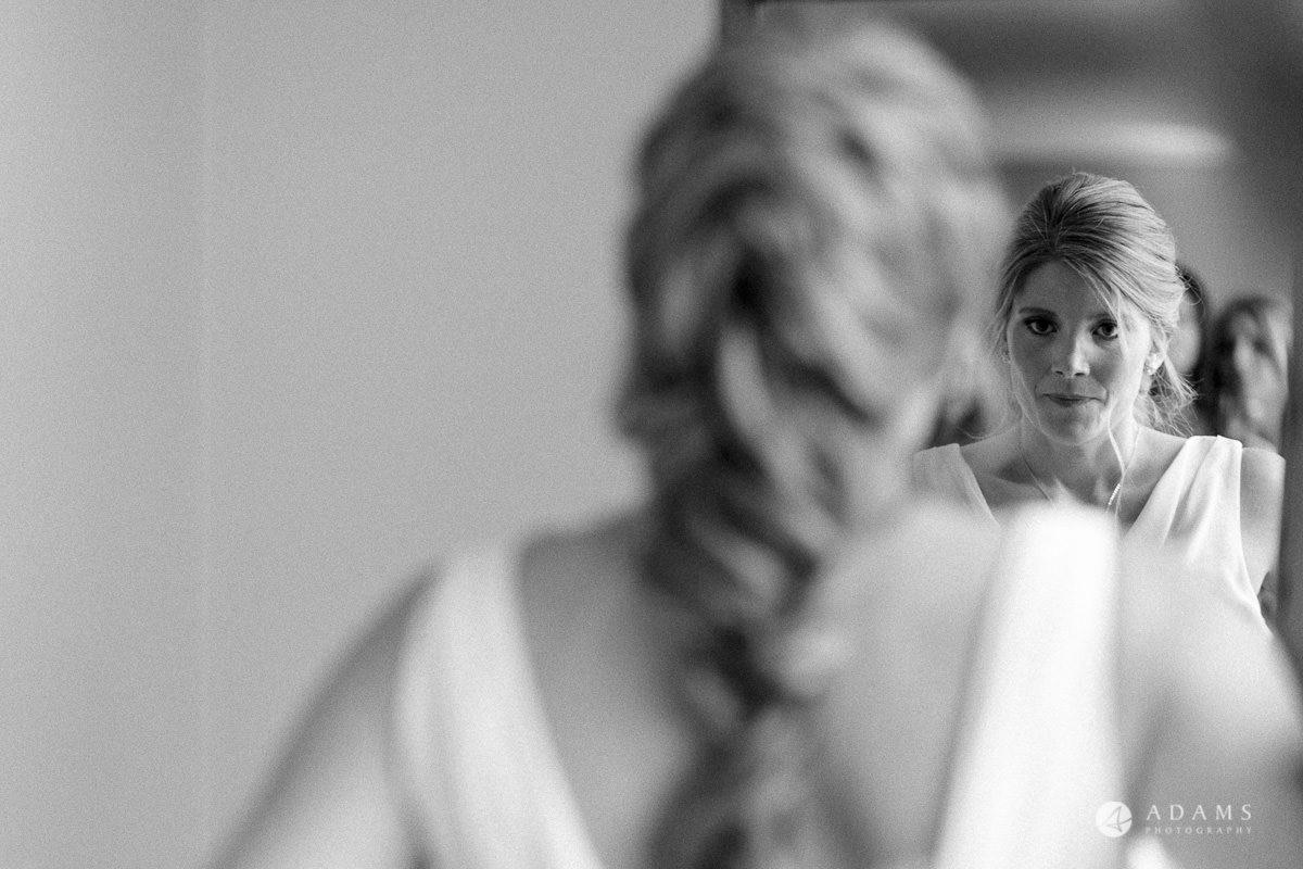 Camden Town wedding bridal hair