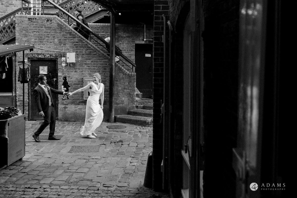 Camden Town wedding photoshot