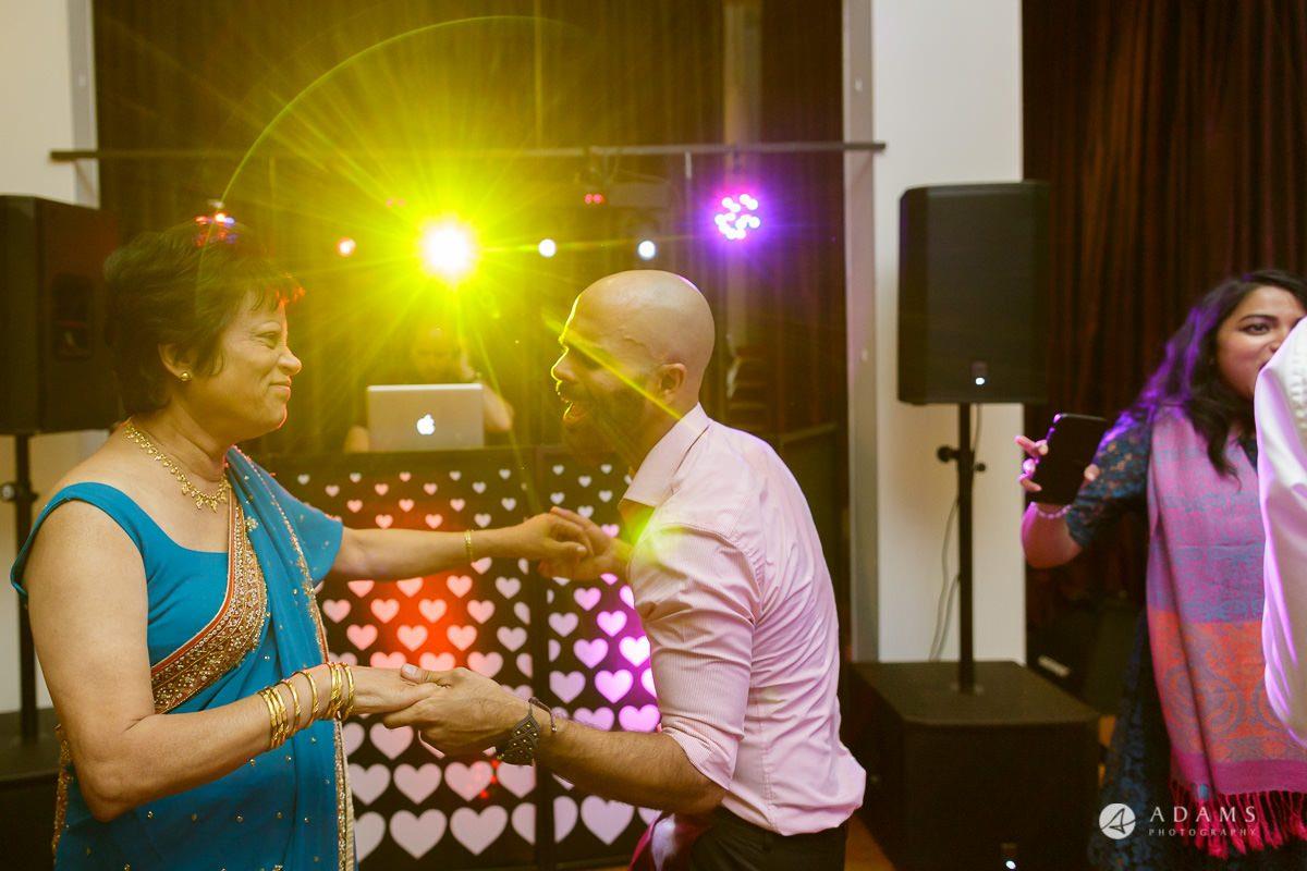 Camden Town wedding guests dancing