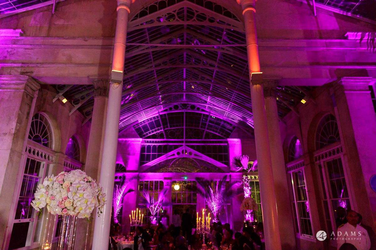 syon park house wedding venue conservatory