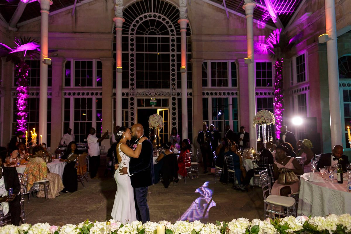 syon park house wedding first dance