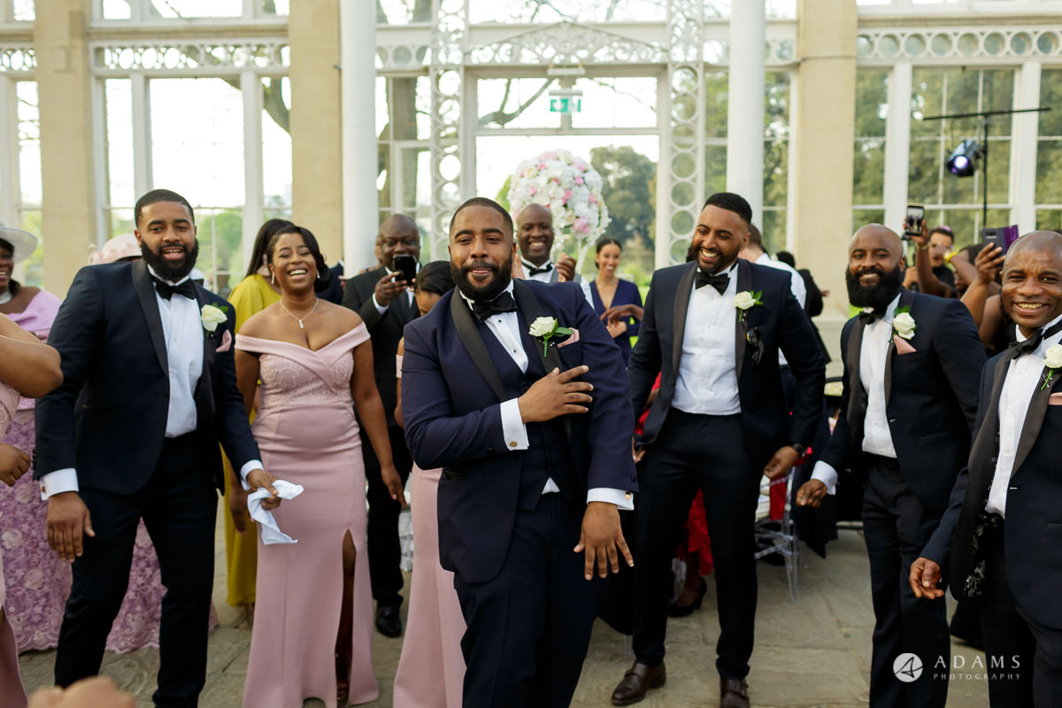 syon park house wedding bestman dances