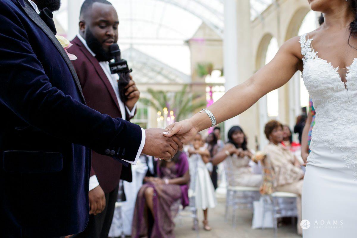 syon park house wedding games