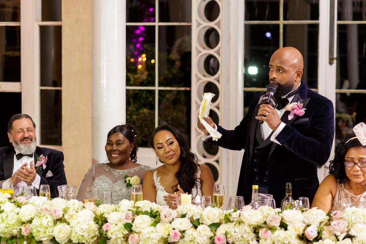 syon park house wedding grooms speech