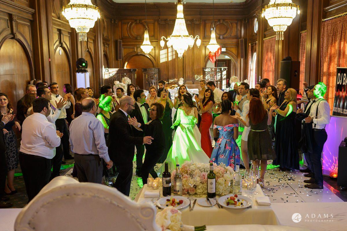 pinewood studios wedding photography guest dance