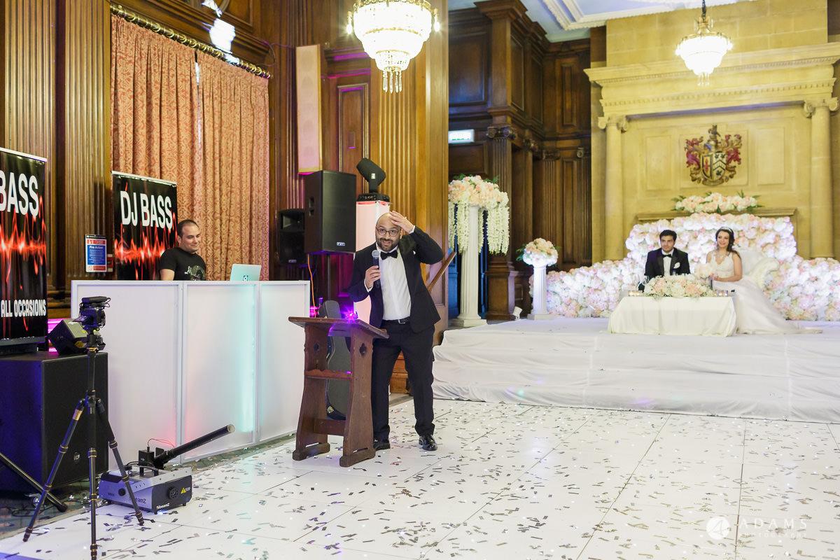 pinewood studios wedding photography bother of the groom speech