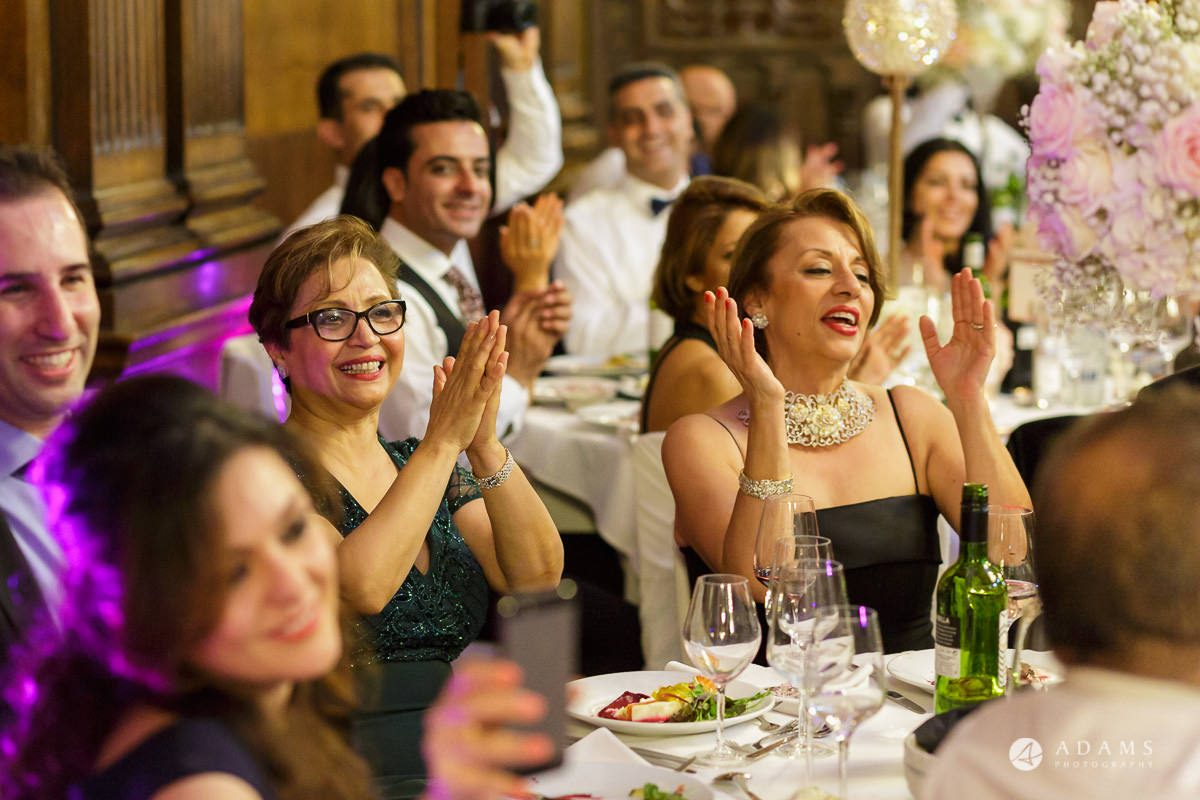 pinewood studios wedding photography guest reaction