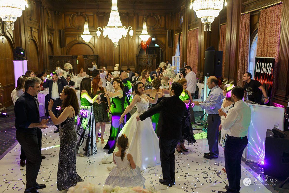 pinewood studios wedding photography dancing