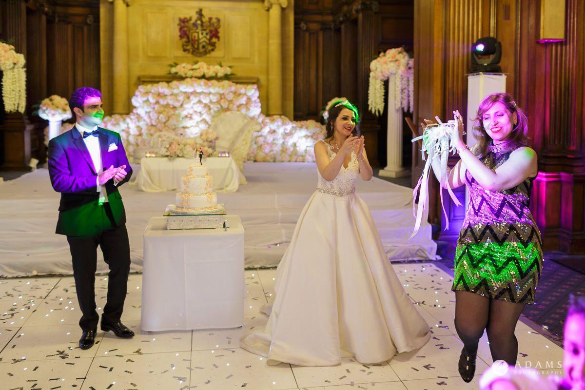 pinewood studios wedding photography wedding cake dance