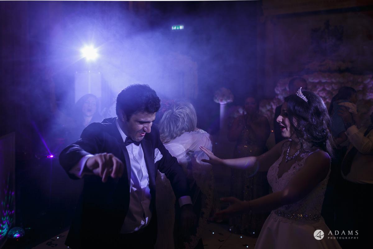 pinewood studios wedding evening dancing starts