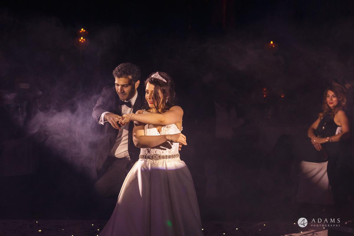 pinewood studios wedding couple dancing