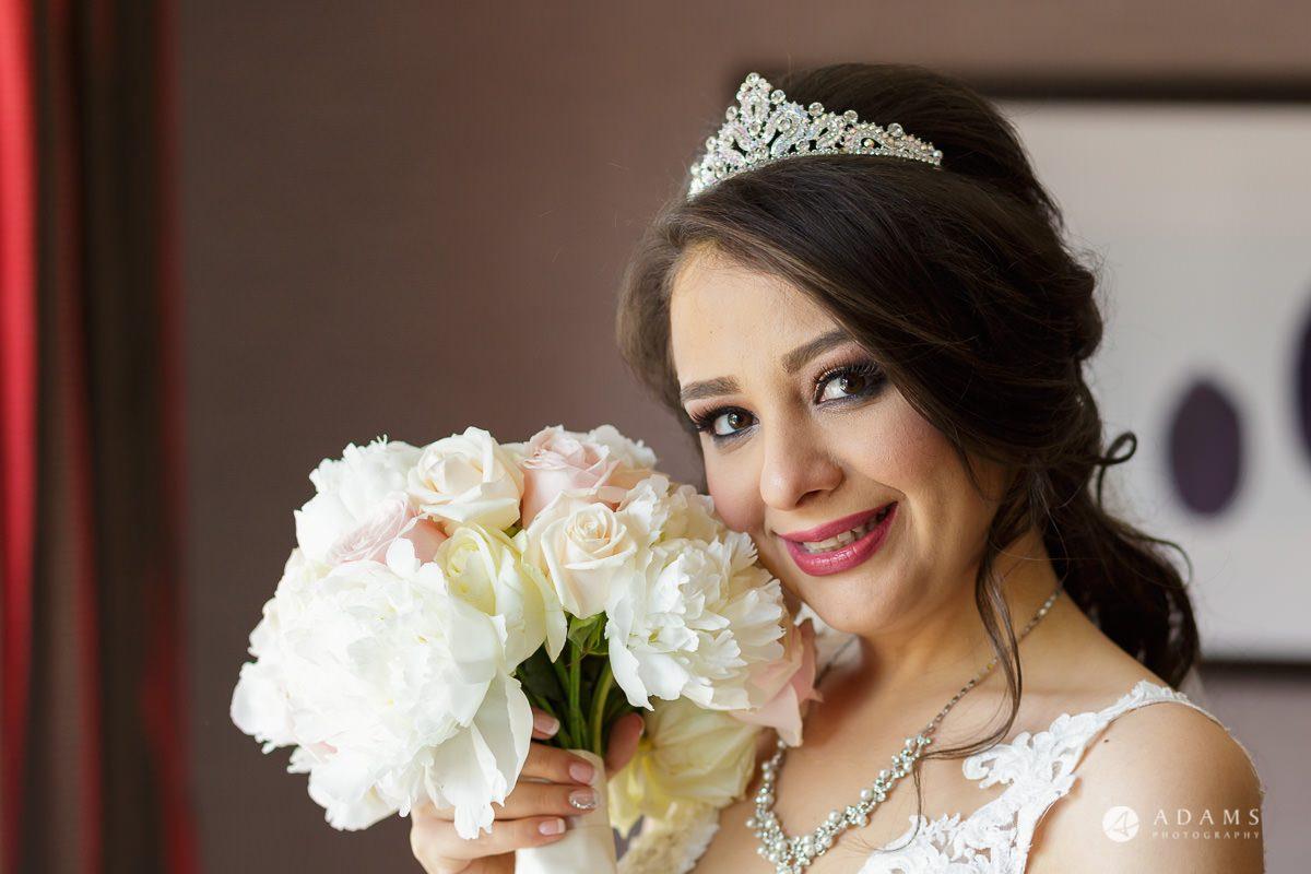 pinewood studios wedding bride posing