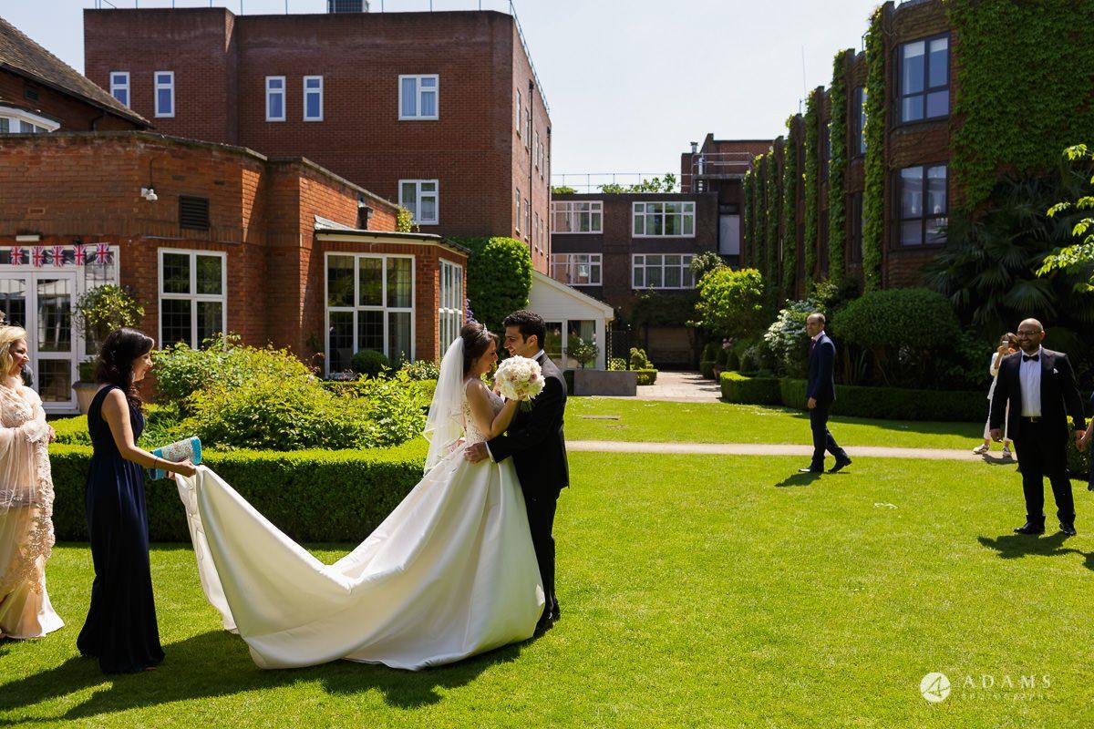 pinewood studios wedding first look