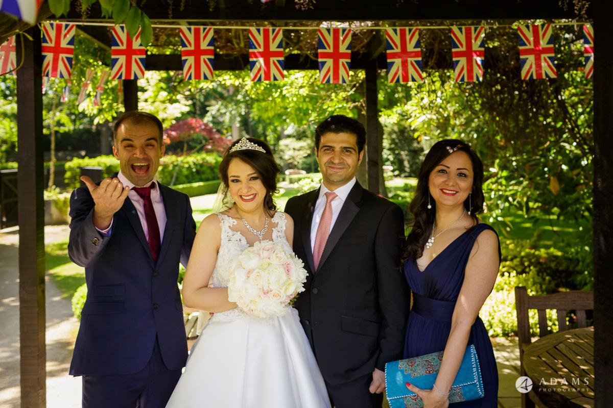 pinewood studios wedding family portrait