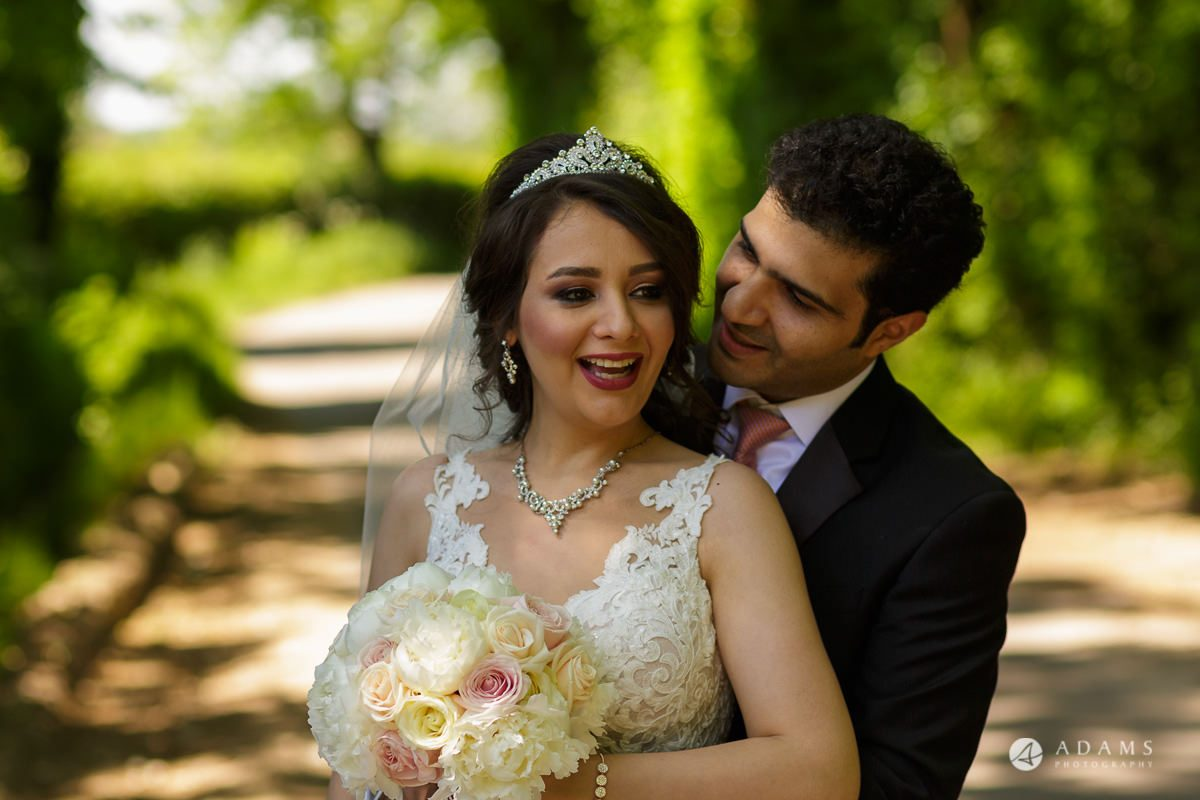 pinewood studios wedding couple portrait