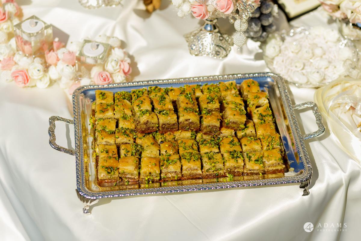 pinewood studios wedding sweets