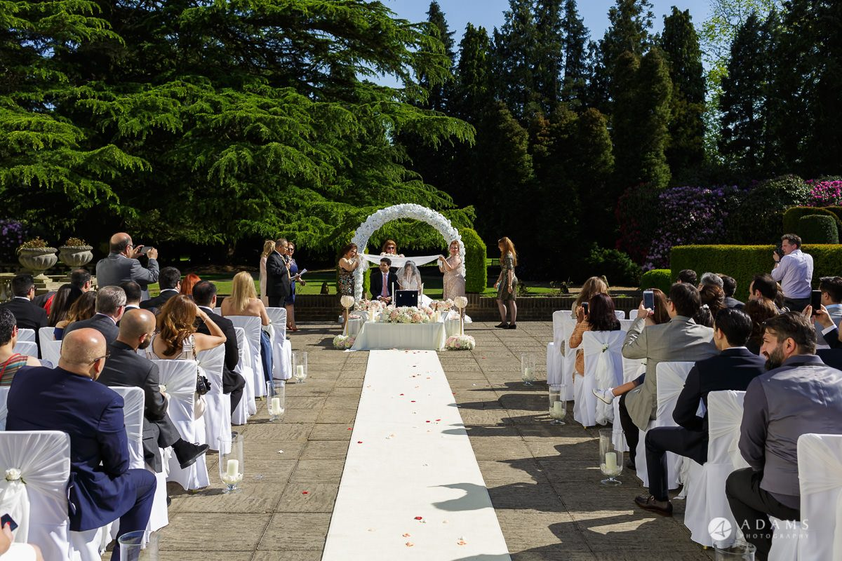 pinewood studios wedding ceremony