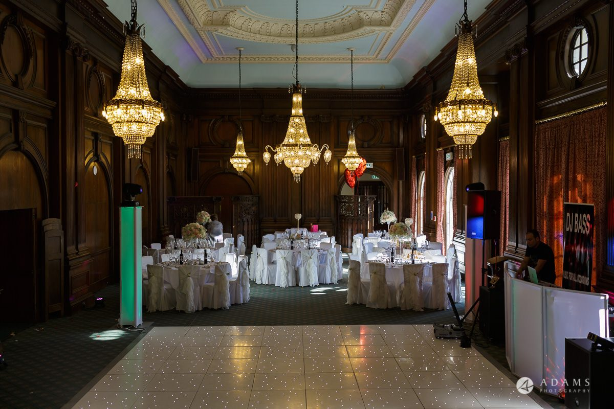 pinewood studios wedding room interior decoration