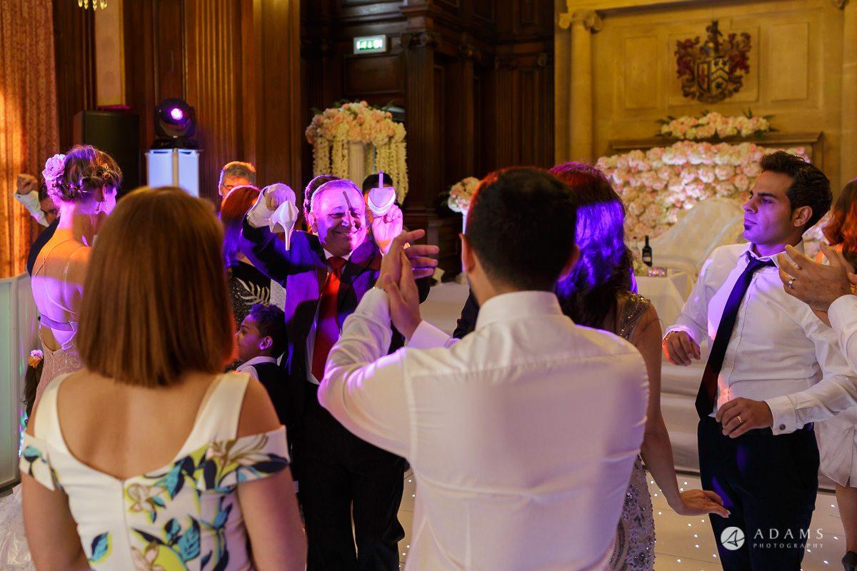 pinewood studios wedding guests dance
