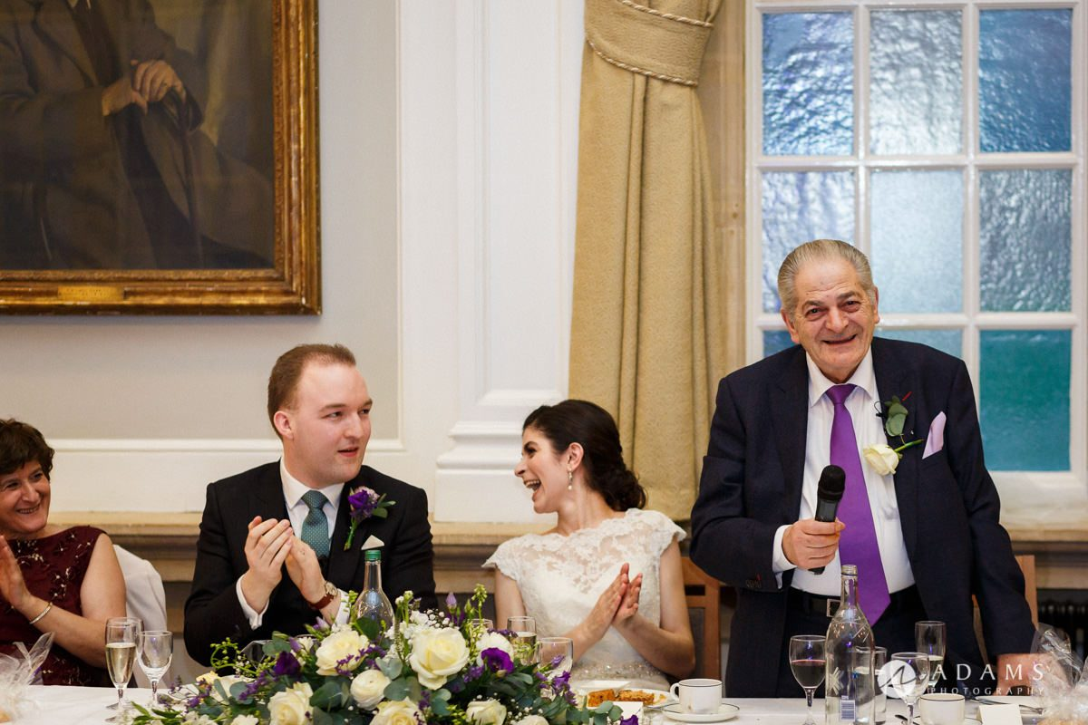 royal holloway wedding father of the bride speech
