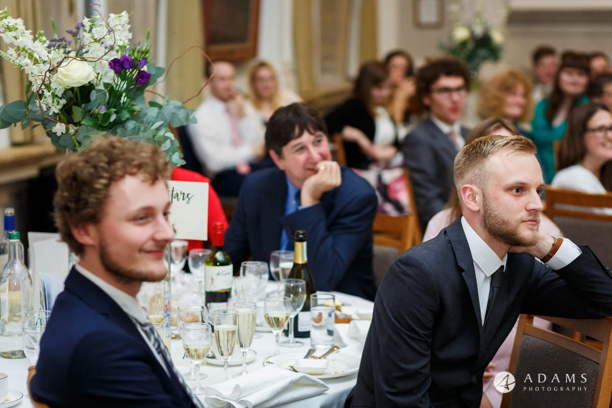 royal holloway wedding guest reaction