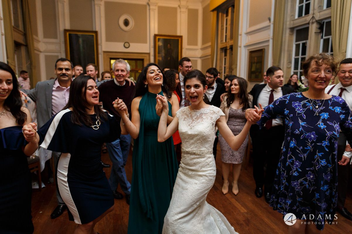 Royal Holloway wedding photography greek dance