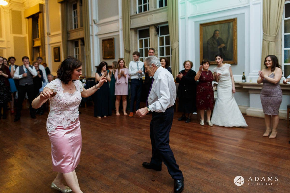 Royal Holloway wedding photographer father greek dance