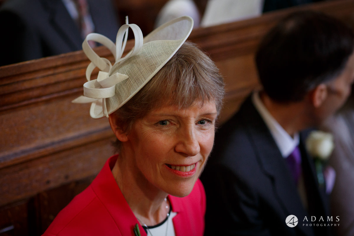 Royal Holloway Wedding mother of the groom