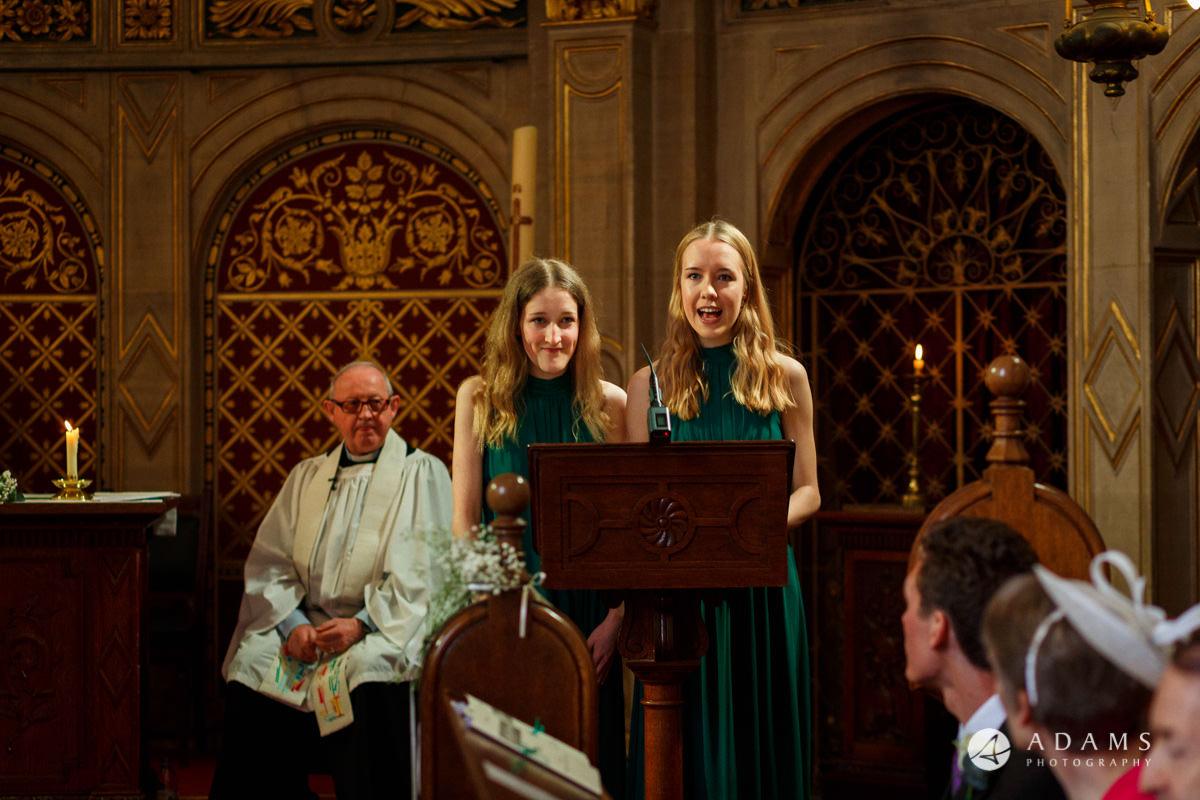 royal holloway wedding bridesmaids reading