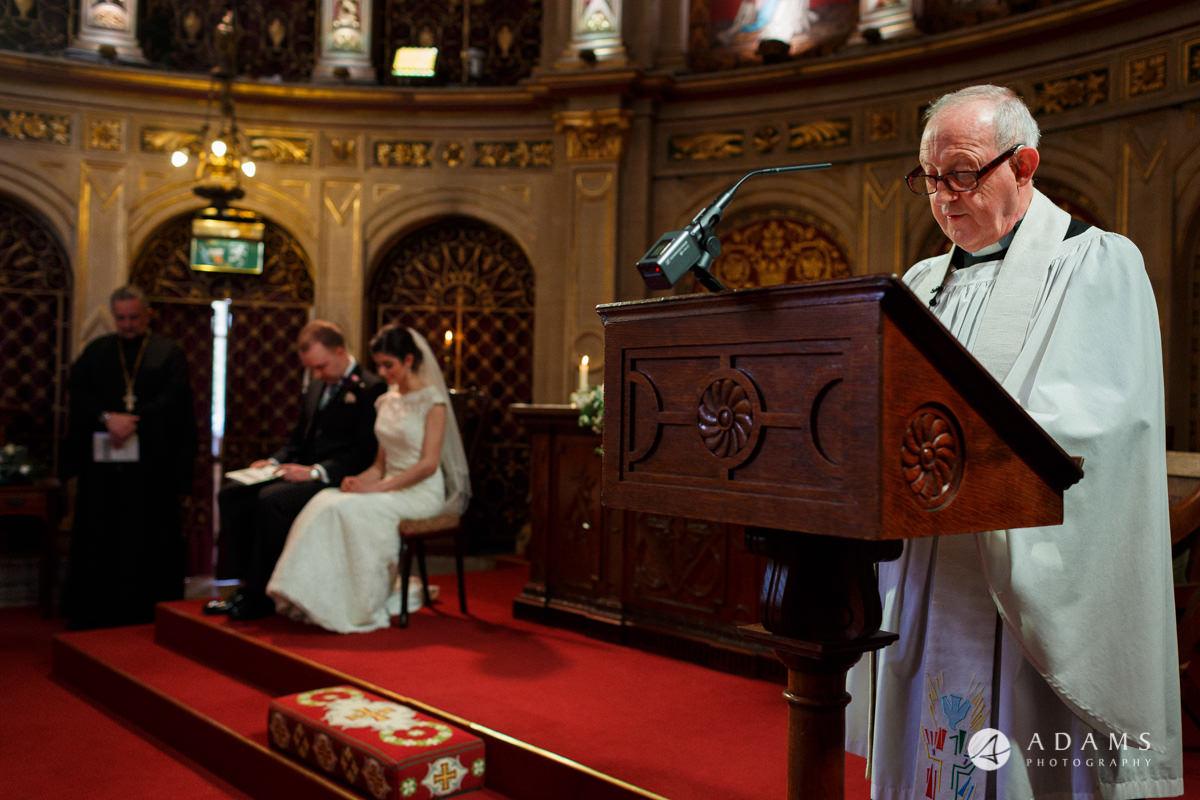 royal holloway wedding priest reading