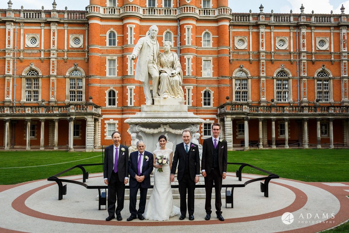 royal holloway wedding only men