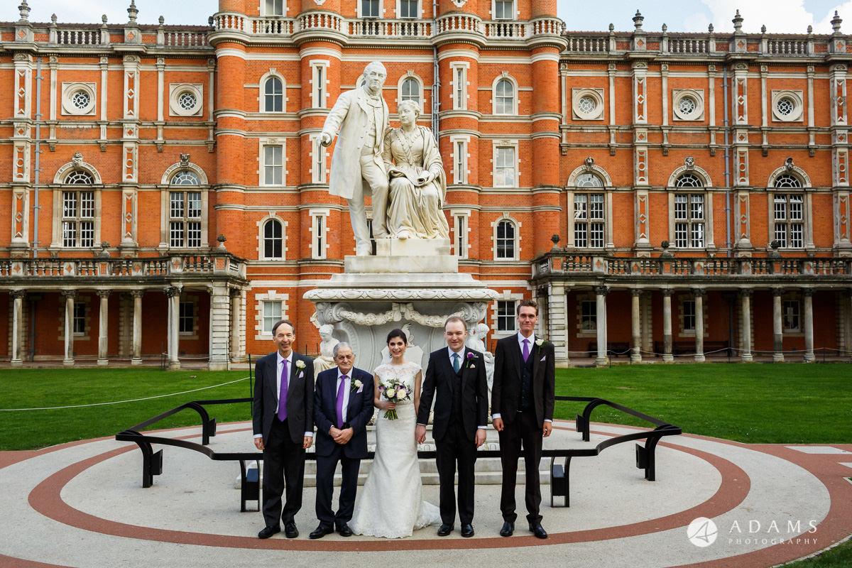 royal holloway wedding only men